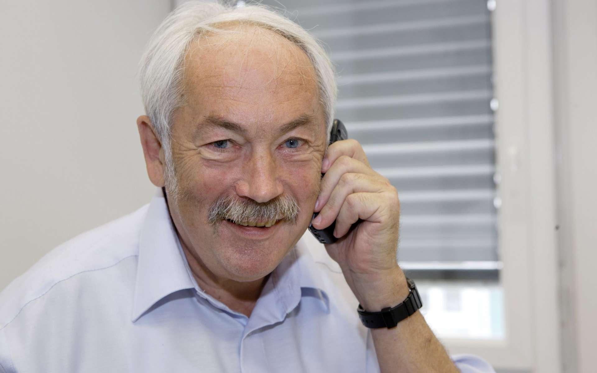 Peter Grünberg, physicien allemand découvreur de la magnétorésistance géante (GMR) © Forschungszentrum Jülich.