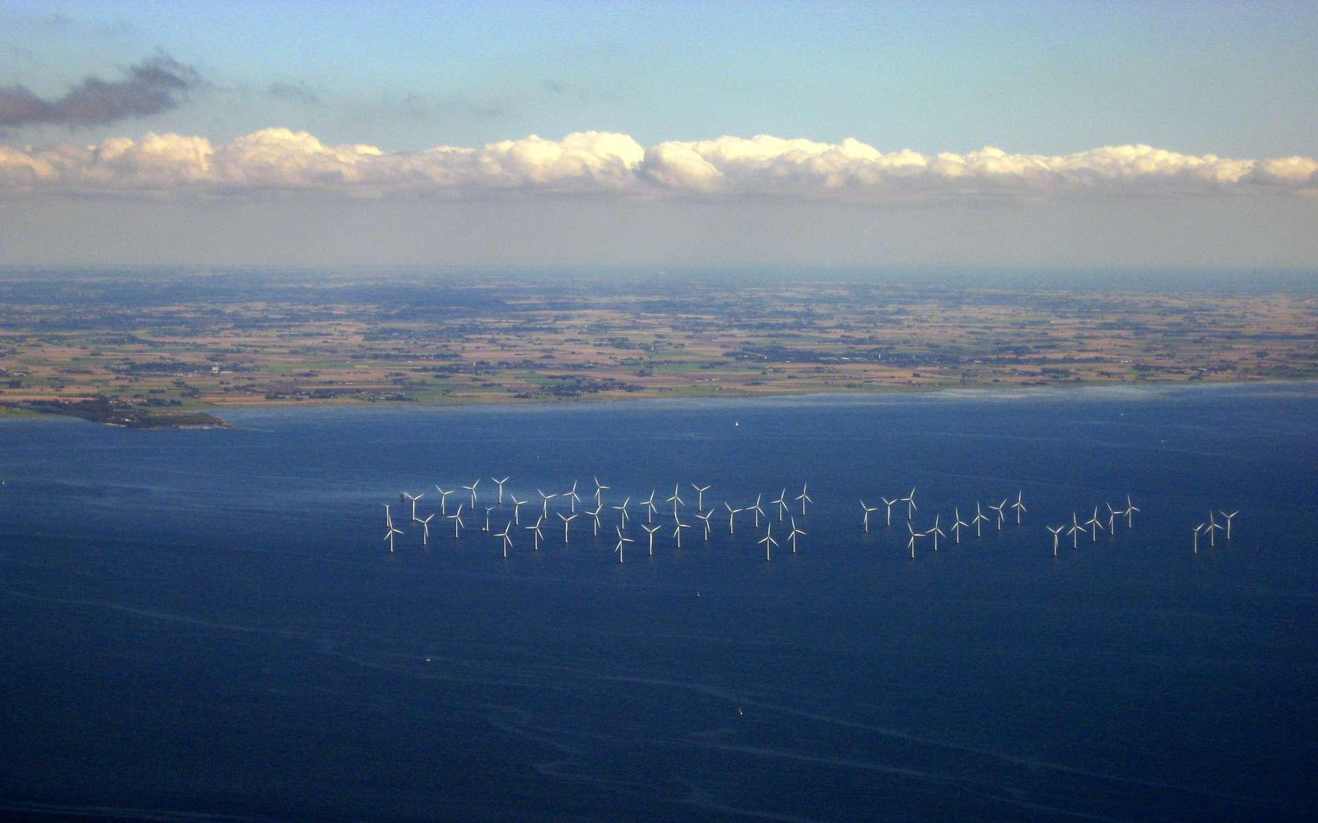 Les parcs éoliens offshore produisent beaucoup plus d'énergie, car en mer, le vent est plus constant et il y a moins de turbulences. Les traînées des éoliennes ont-elles pour autant moins d'impact qu'à terre ? © Tomasz Sienicki, cc by sa 3.0