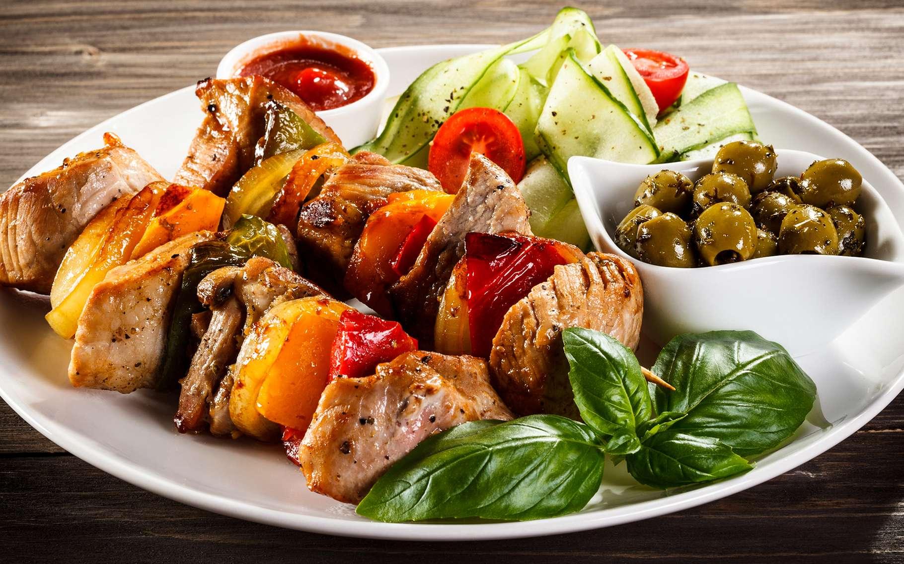 Si vous aimez les viandes grillées, pensez à la cuisson à la plancha : elle est meilleure pour la santé que le barbecue. © Jacek Chabraszewski, Shutterstock