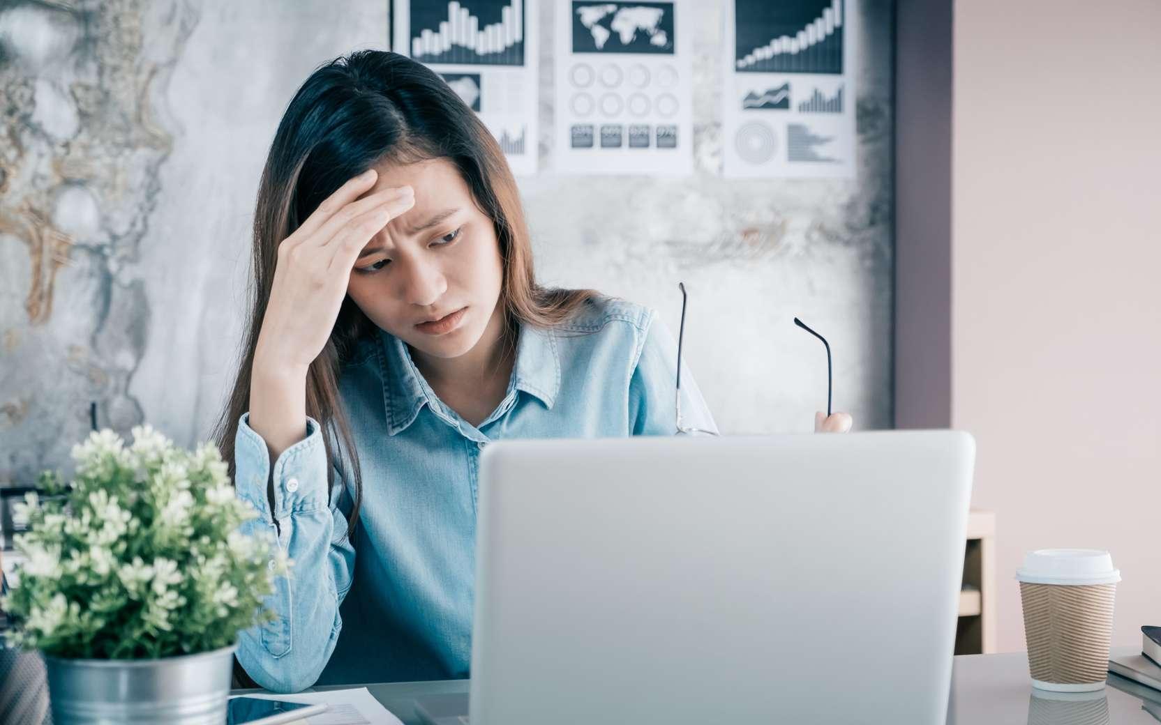 Un stress au travail peut conduire au burn-out. © weedezign, Fotolia