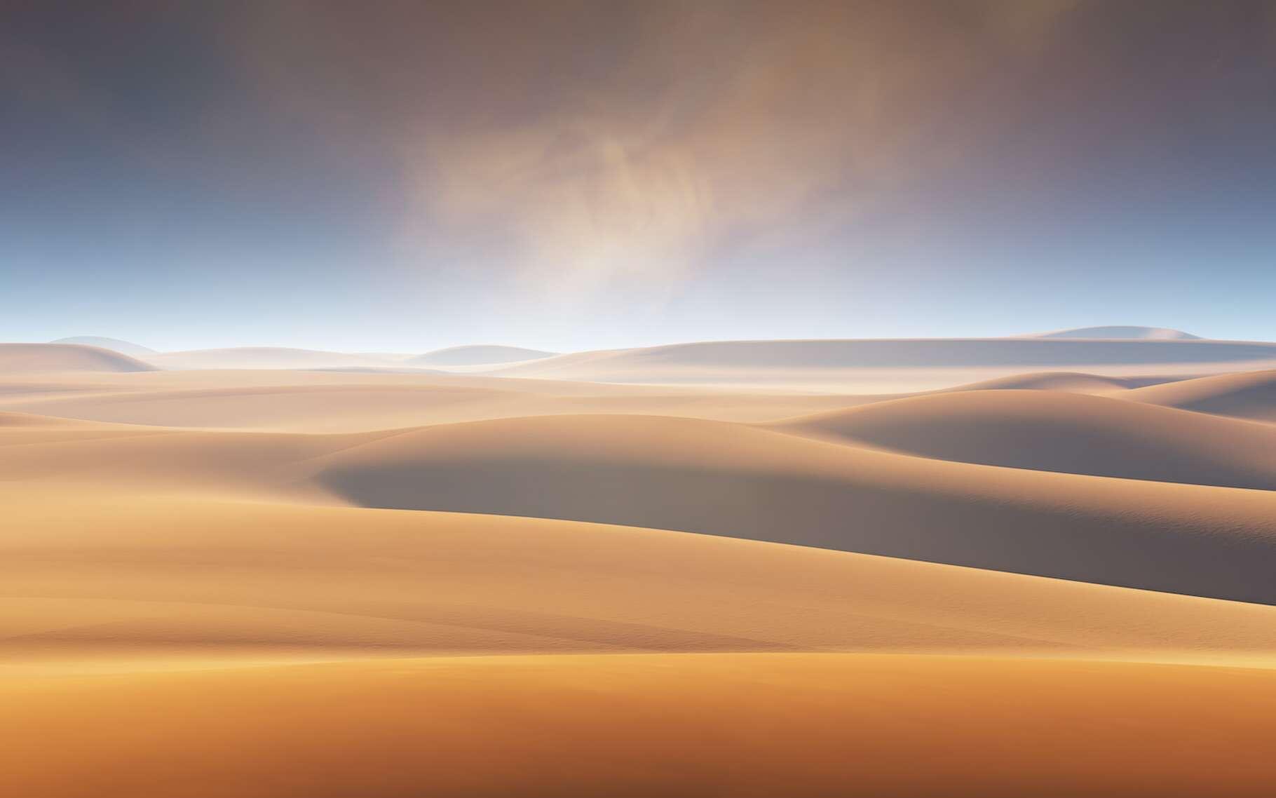 Lorsque les conditions sont réunies, des poussières de sable du Sahara peuvent atteindre la France et teinter notre ciel d'orange. Avec quelques conséquences fâcheuses sur la qualité de l'air. © Peter Jurik, Adobe Stock