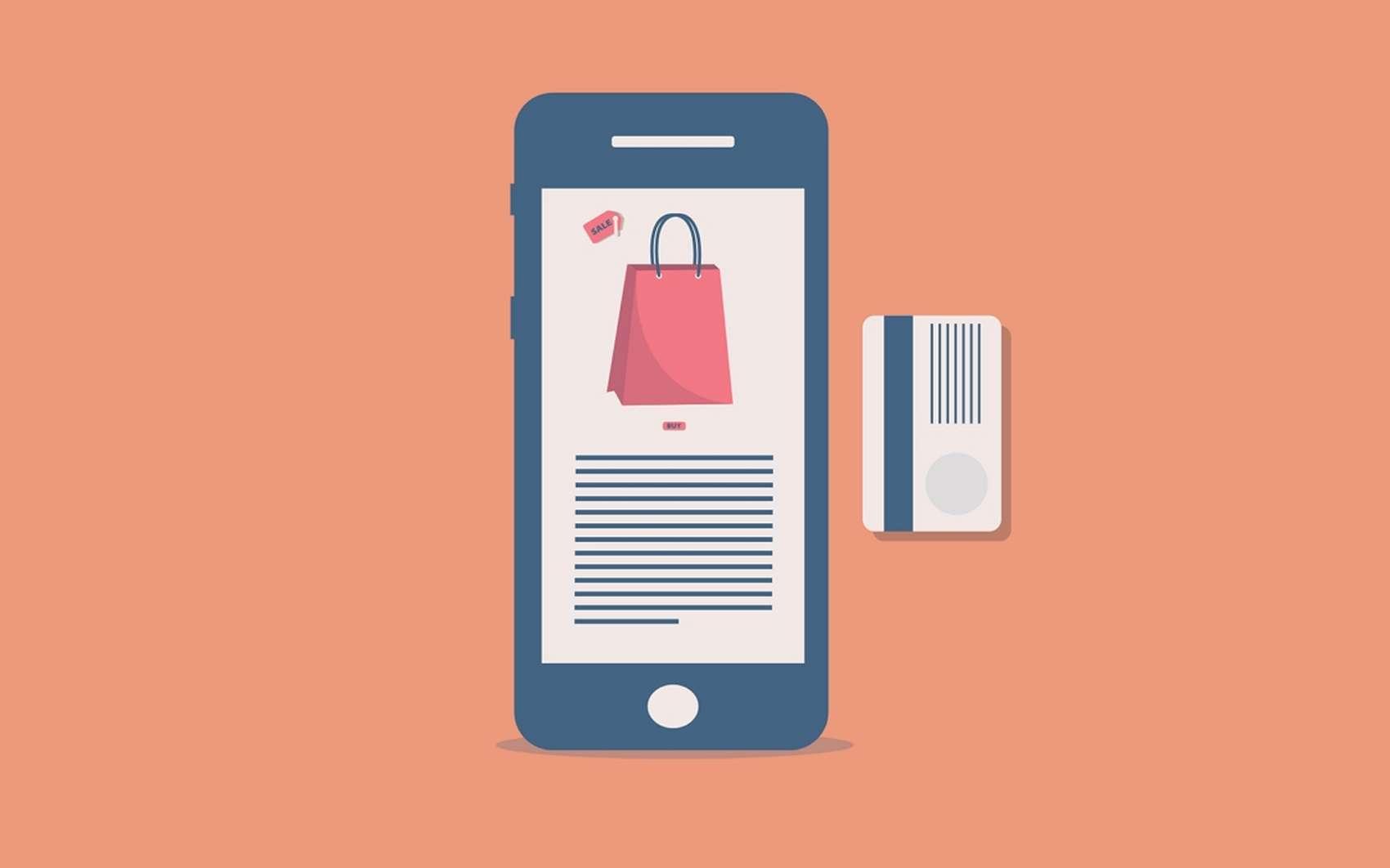 Même plus besoin d'allumer son ordinateur pour acheter en ligne ! Les principaux sites de e-commerce offrent une application pour accéder à leurs services à tout moment. © Pixabay.com