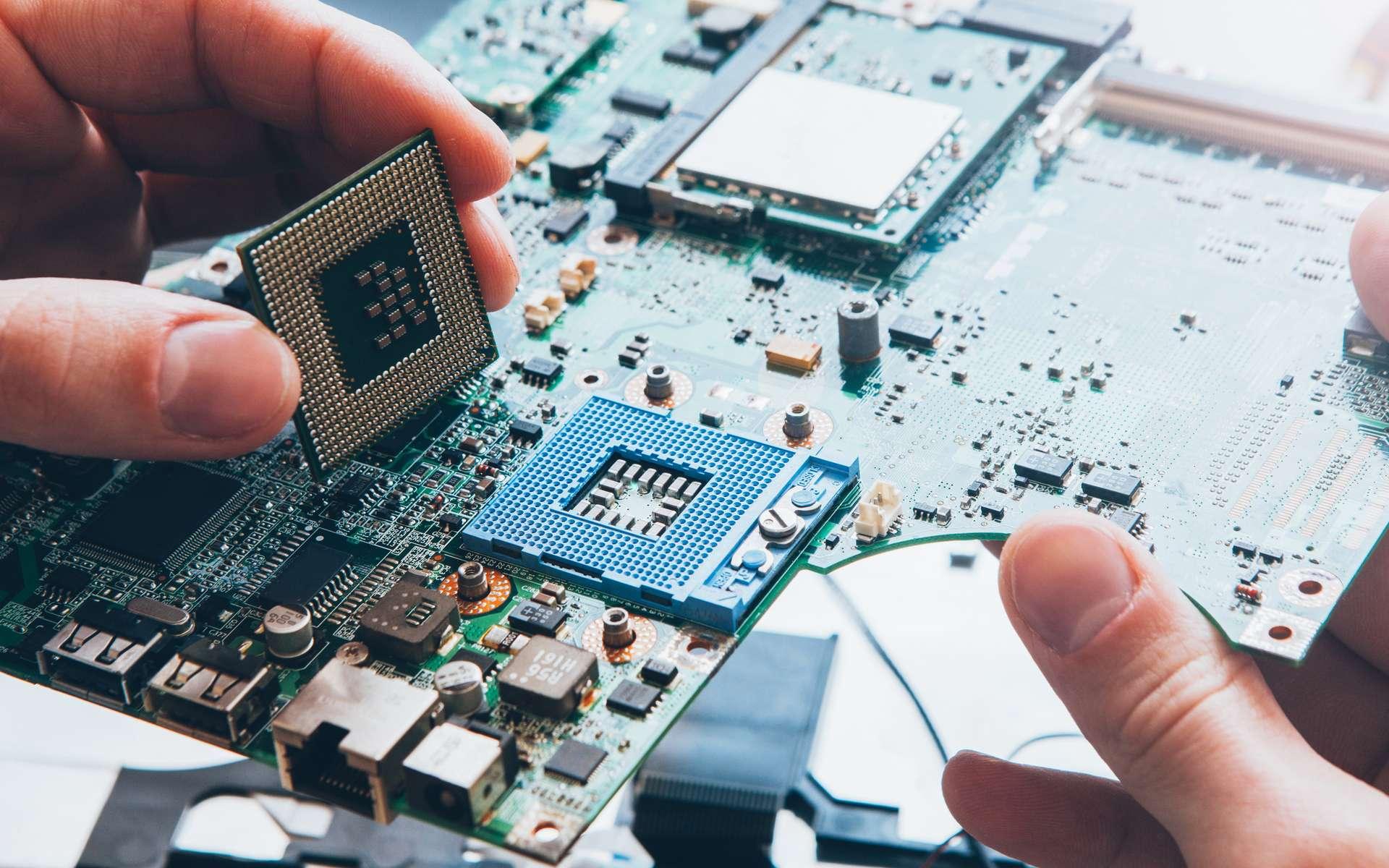 Les processeurs sont le cerveau d'un ordinateur. © igor_kell, Adobe Stock