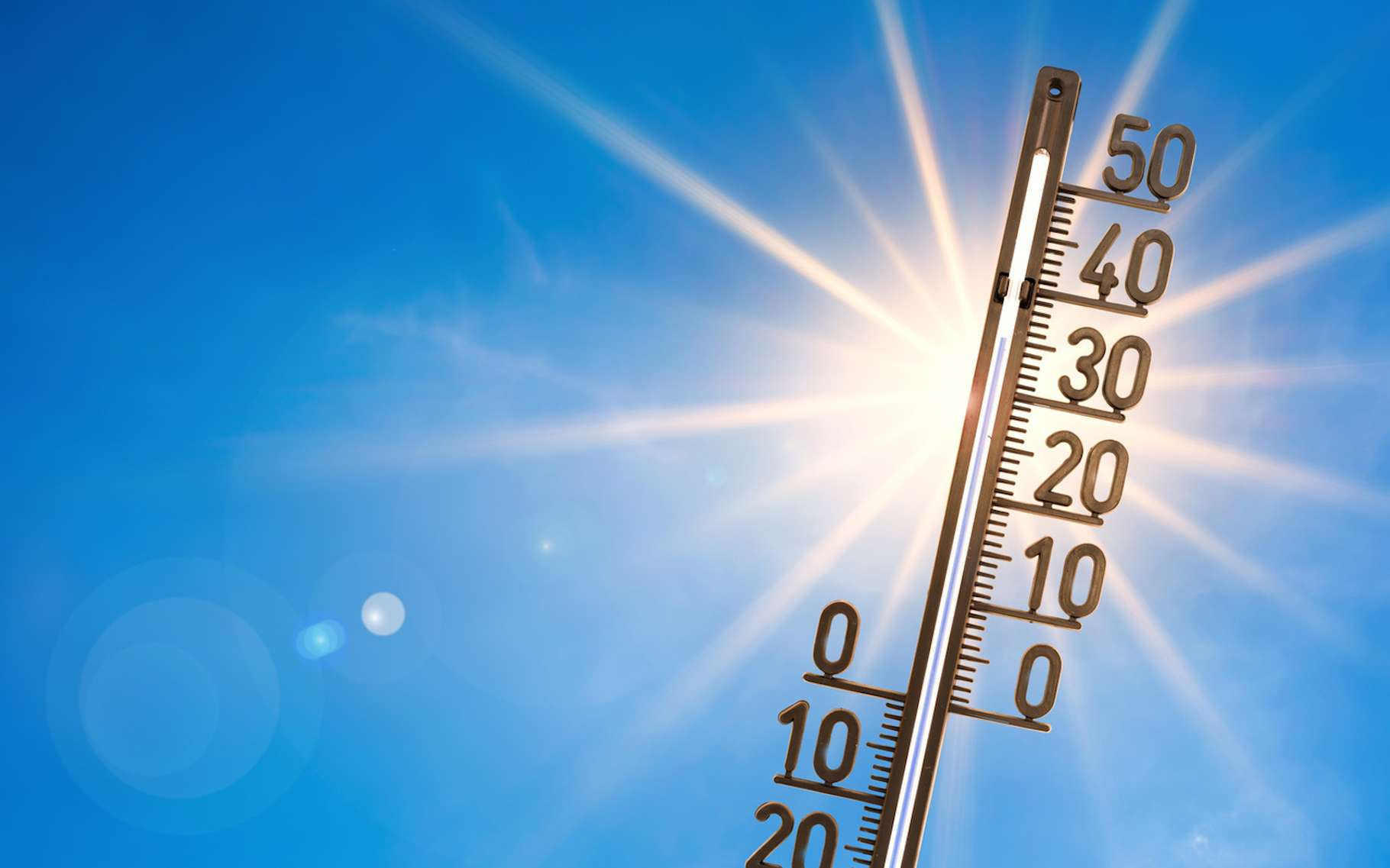 Le rayonnement infrarouge est associé à la chaleur. © John Smith, Fotolia
