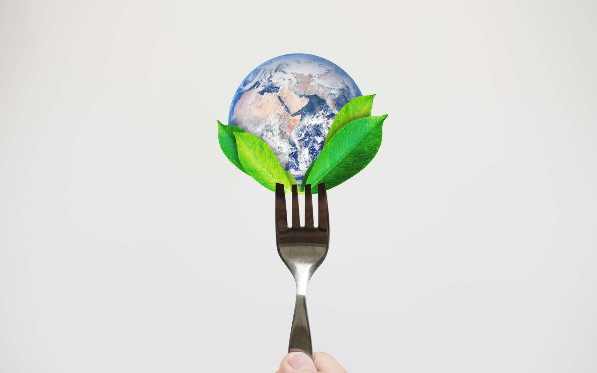 Manger écolo, c'est prendre soin de sa santé et par conséquent de l'économie de son système de santé. © SasinParaksa, Adobe Stock