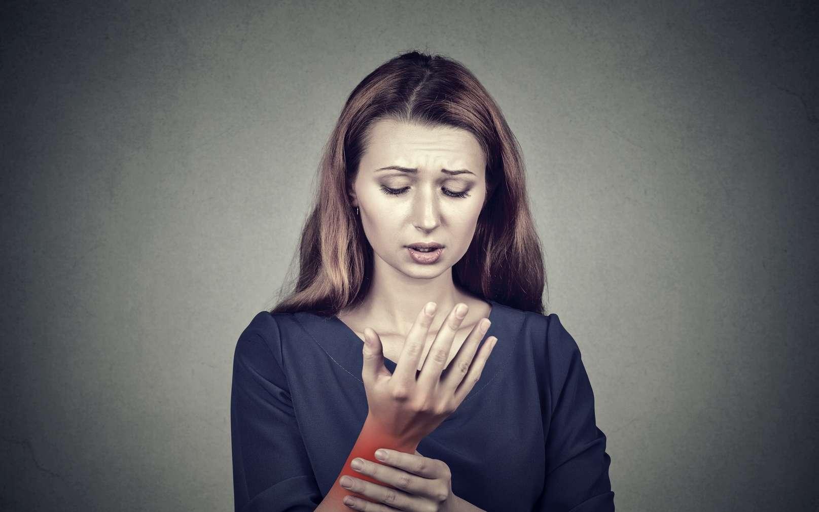 Le syndrome du canal carpien est un des principaux TMS en France. © pathdoc, Fotolia