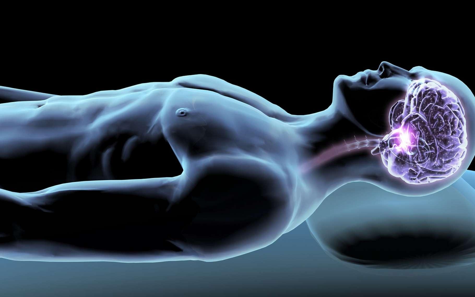 Le suivi des troubles du sommeil pourrait énormément gagner en souplesse grâce à ce nouveau système sans fil. © Hank, Fotolia