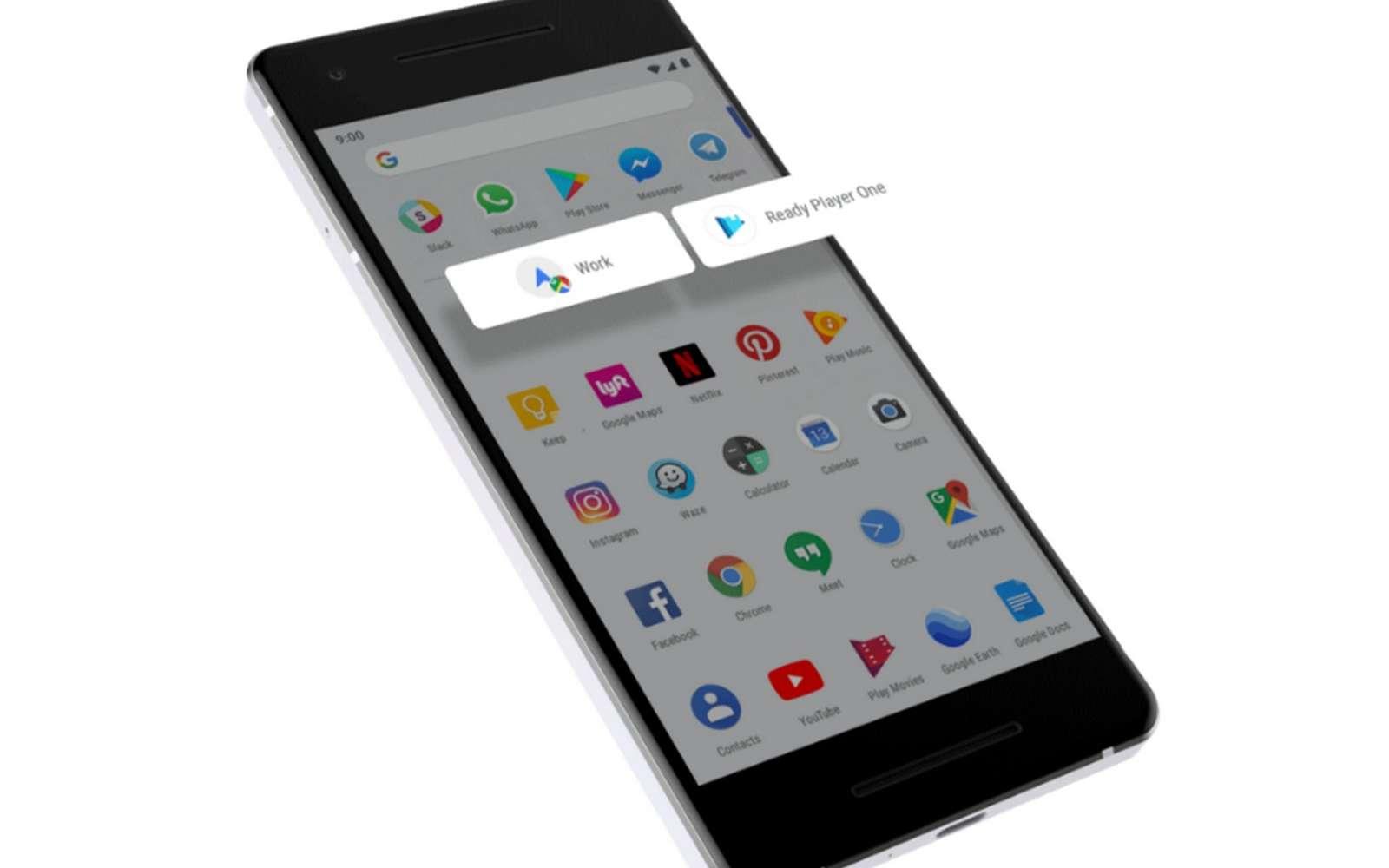 Android 9 Pie s'adapte aux habitudes des usagers. © Google