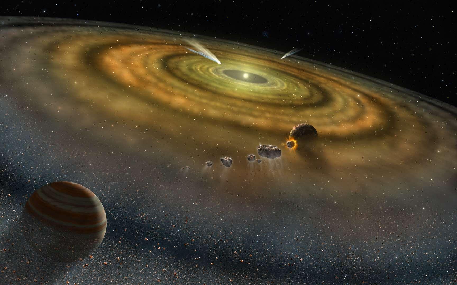 Exoplanètes : les champs magnétiques contrôleraient aussi leur formation - Futura