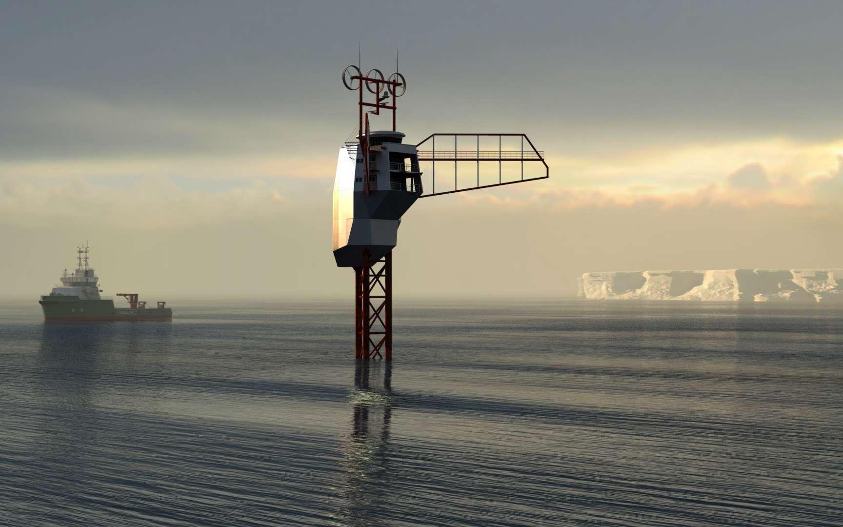 Le projet Polar Pod, une aventure scientifique de grande ampleur. © Jean Louis Étienne, Wikimédias Commons, CC by-sa 4.0