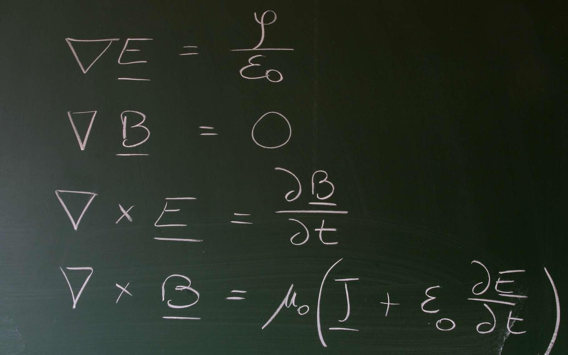 Les équations de Maxwell posent les bases de l'électromagnétisme et mettent en lumière une certaine symétrie entre électricité et magnétisme. Une symétrie que les physiciens appellent dualité électromagnétique. © Claude Wangen, Adobe Stock