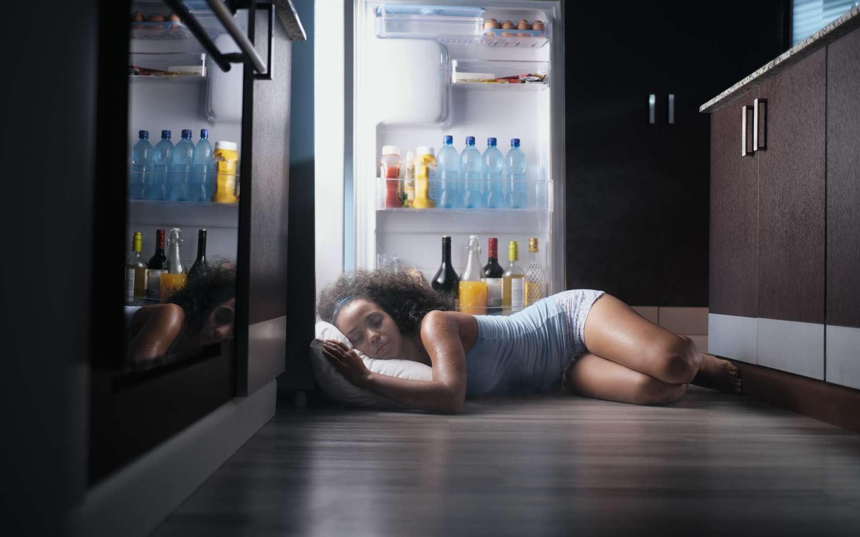 Comment bien dormir quand il fait très chaud ? © diego cervo, fotolia
