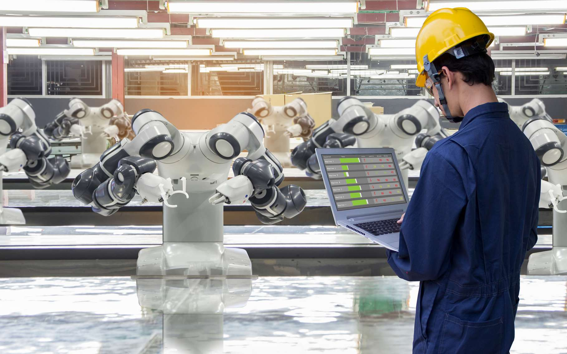L'industrie 4.0 est en marche. © Poobest, fotolia