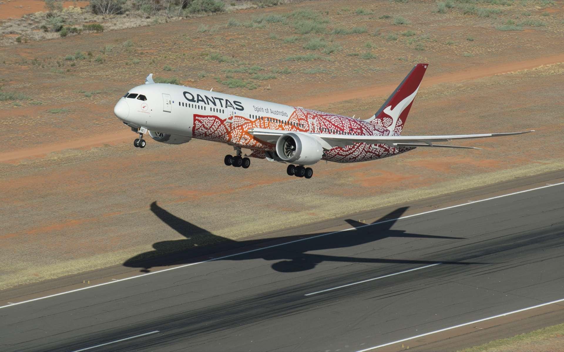 La compagnie australienne Qantas utilisera un Boeing 787-9 pour ses vols d'essais de très longue durée. © Qantas