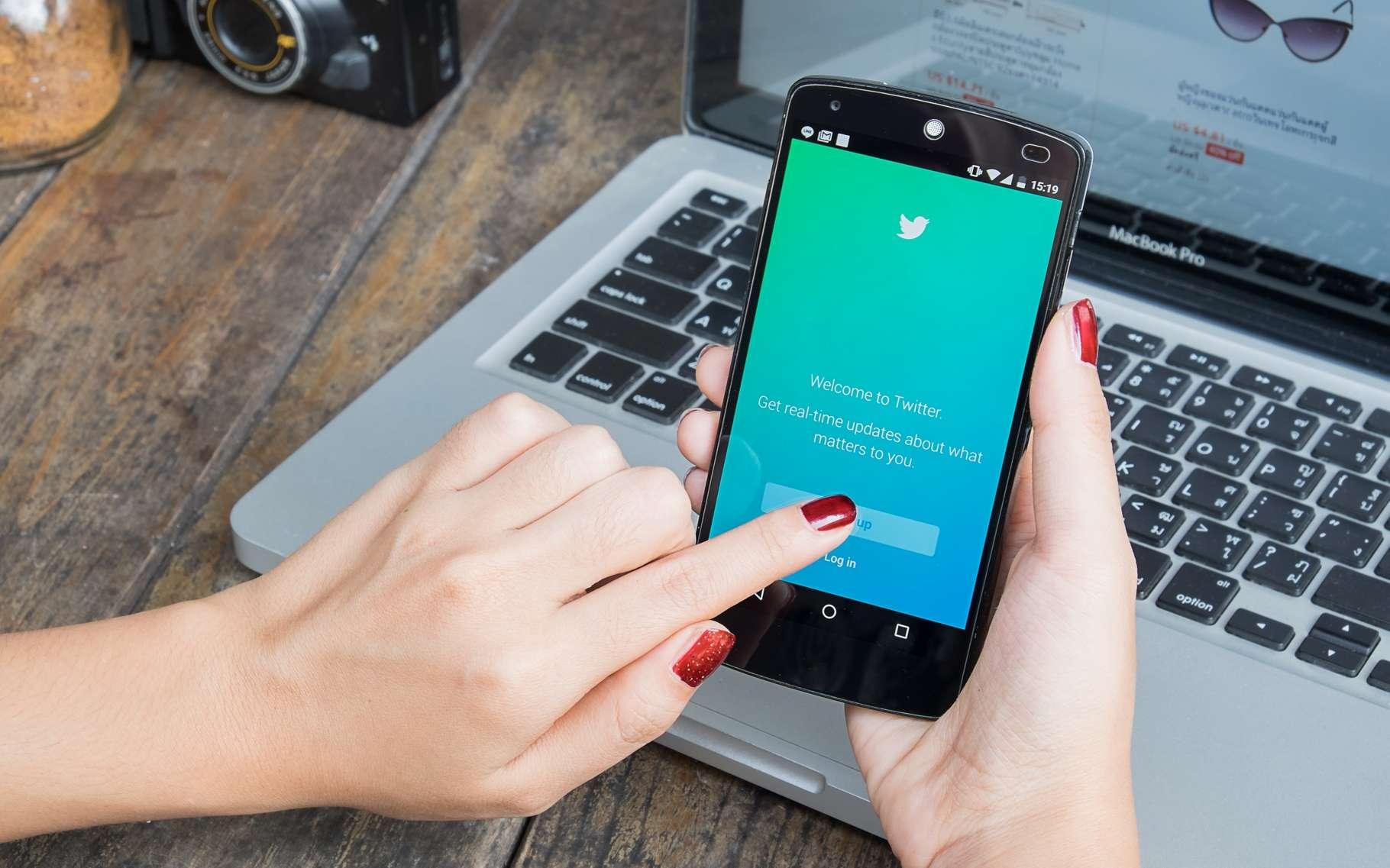 Ne vous laissez pas déborder par le flux d'informations de Twitter : créez des listes pour organiser vos contenus. © Prathan Chorruangsak, Shutterstock