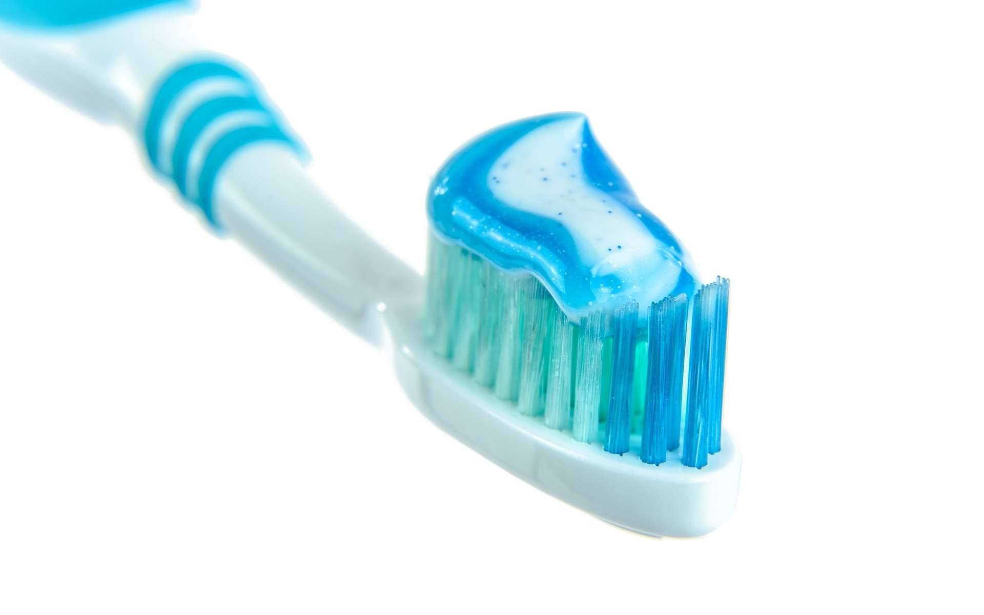 Beaucoup de dentifrices contiennent du dioxyde de titane. © Image par Photo Mix de Pixabay