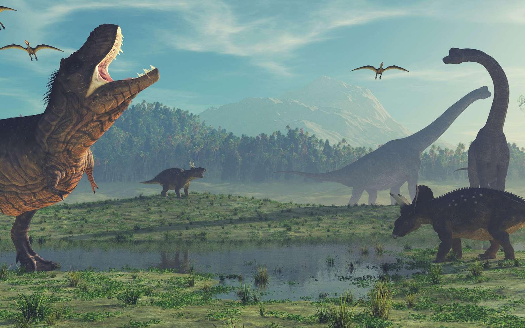 William Buckland a décrit le premier dinosaure de l'histoire. © Orlando Florin Rosu, Adobe Stock