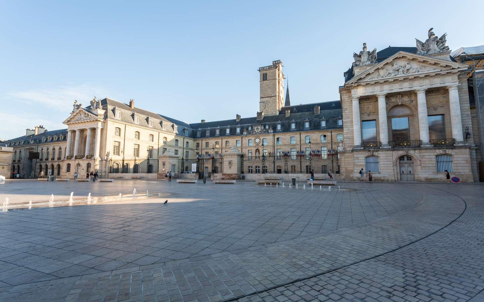 La métropole de Dijon centralise en un seul réseau la gestion de plusieurs services de l'espace urbain. © amnach, Fotolia
