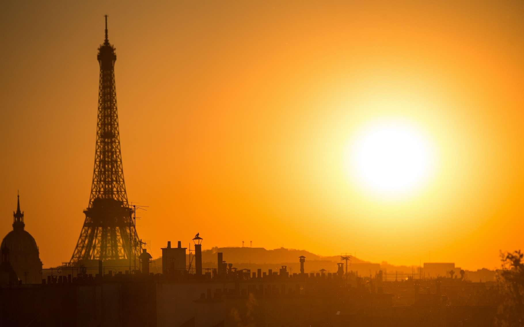 une anomalie de température de +2 °C en juin 2021