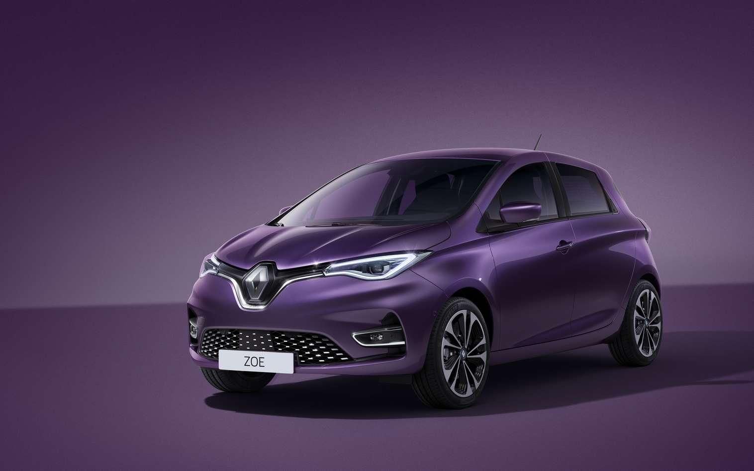 La nouvelle Renault Zoe est proposée en neuf coloris, dont trois couleurs inédites. © Renault