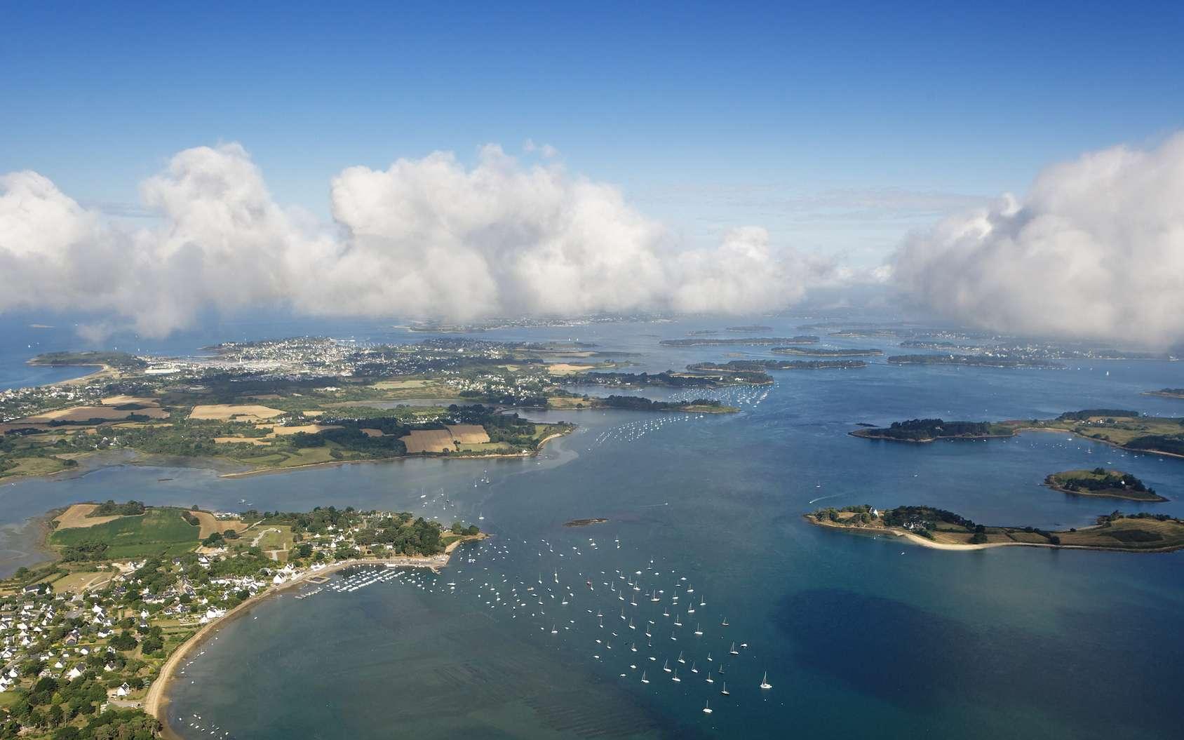 Le Logéo, l'île Govihan, dans le golfe du Morbihan. © Philippe Devanne, fotolia