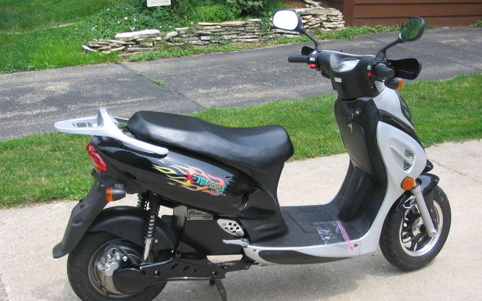 Quelle est l'autonomie d'un scooter électrique ? © Wikimedia