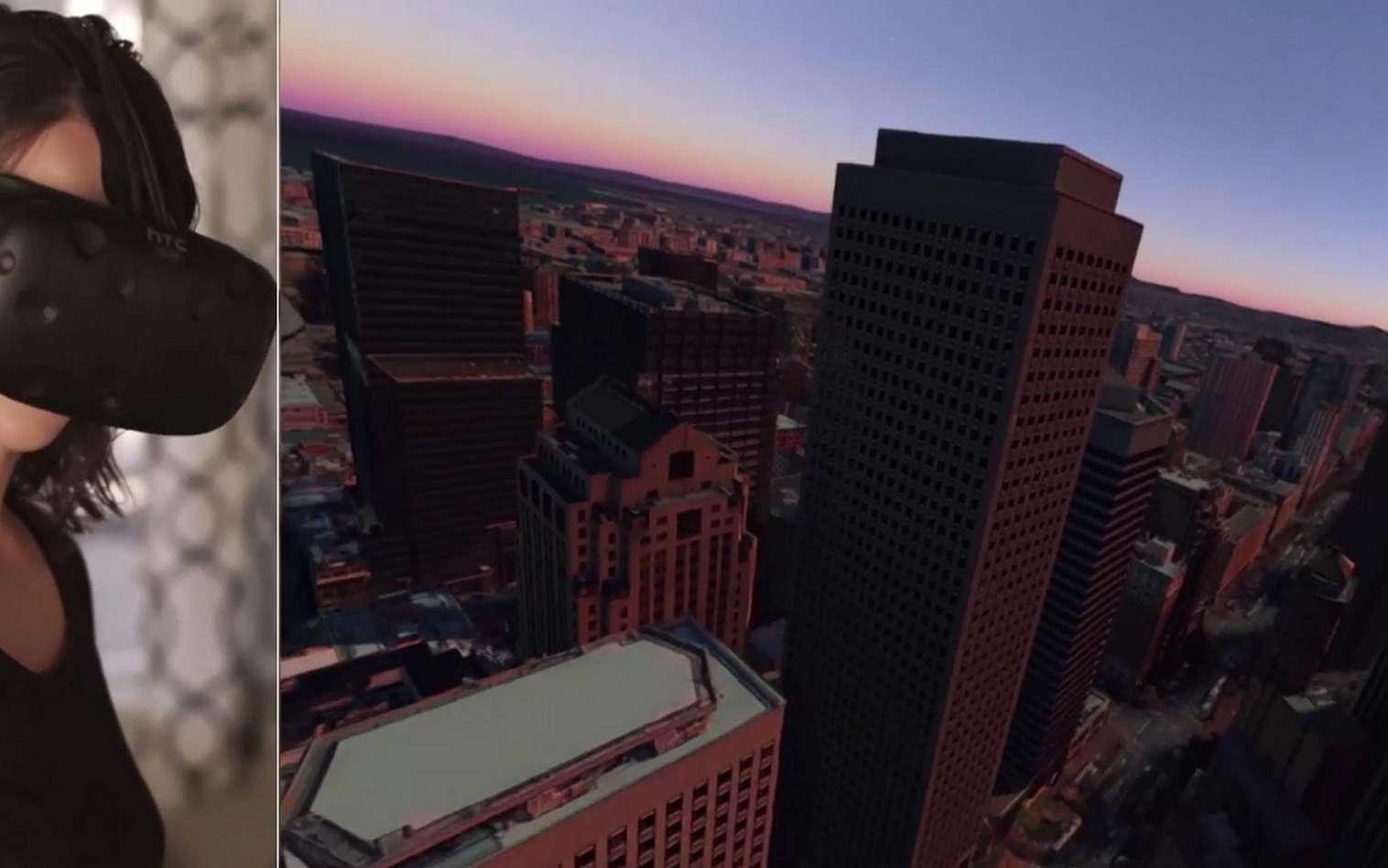 L'application Google Earth VR permet de s'immerger dans le décor pour partir à la découverte de villes, paysages et monuments à travers le monde entier. © Google