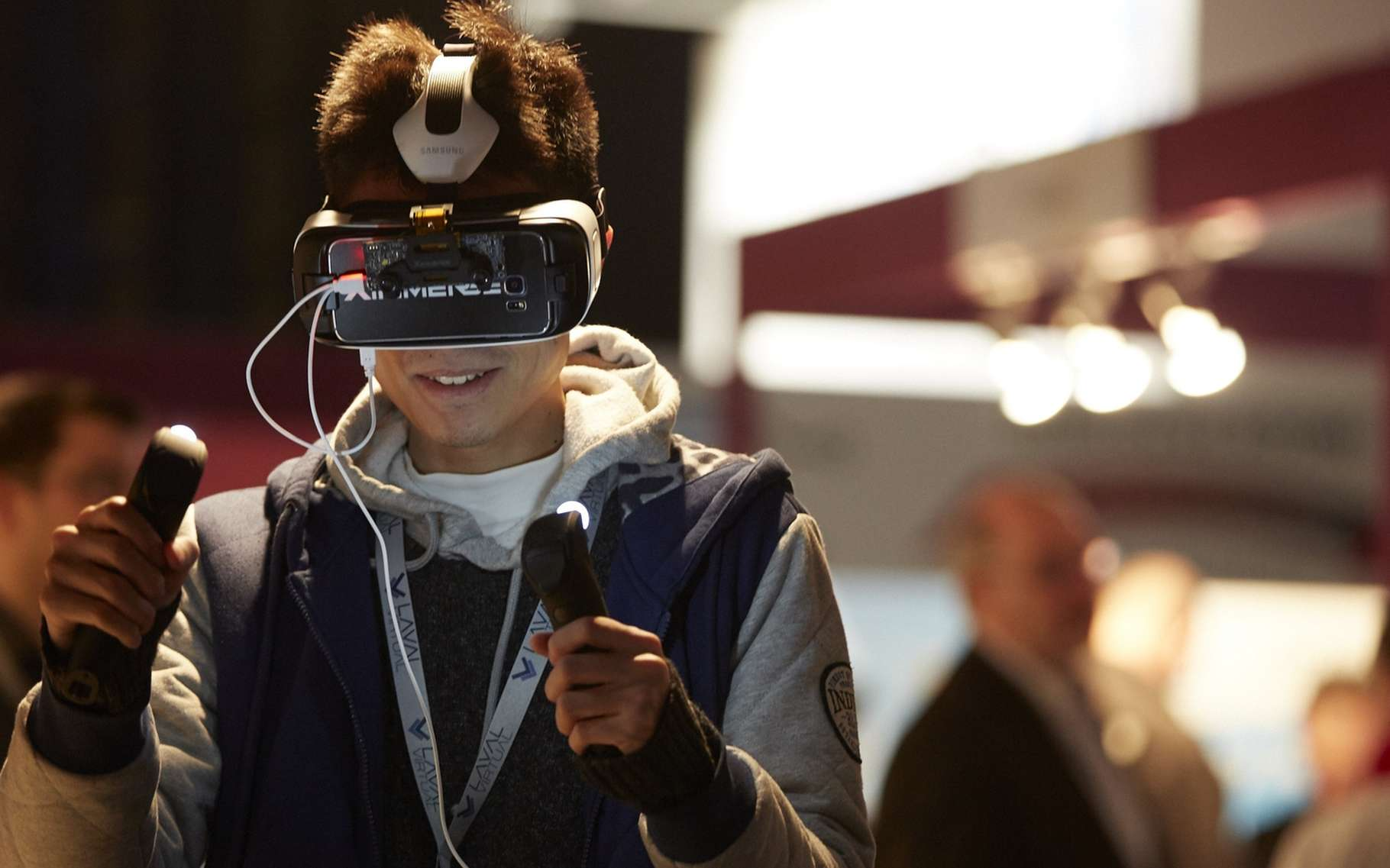 En 2018, le salon Laval Virtual soufflera ses 20 bougies. © Laval Virtual