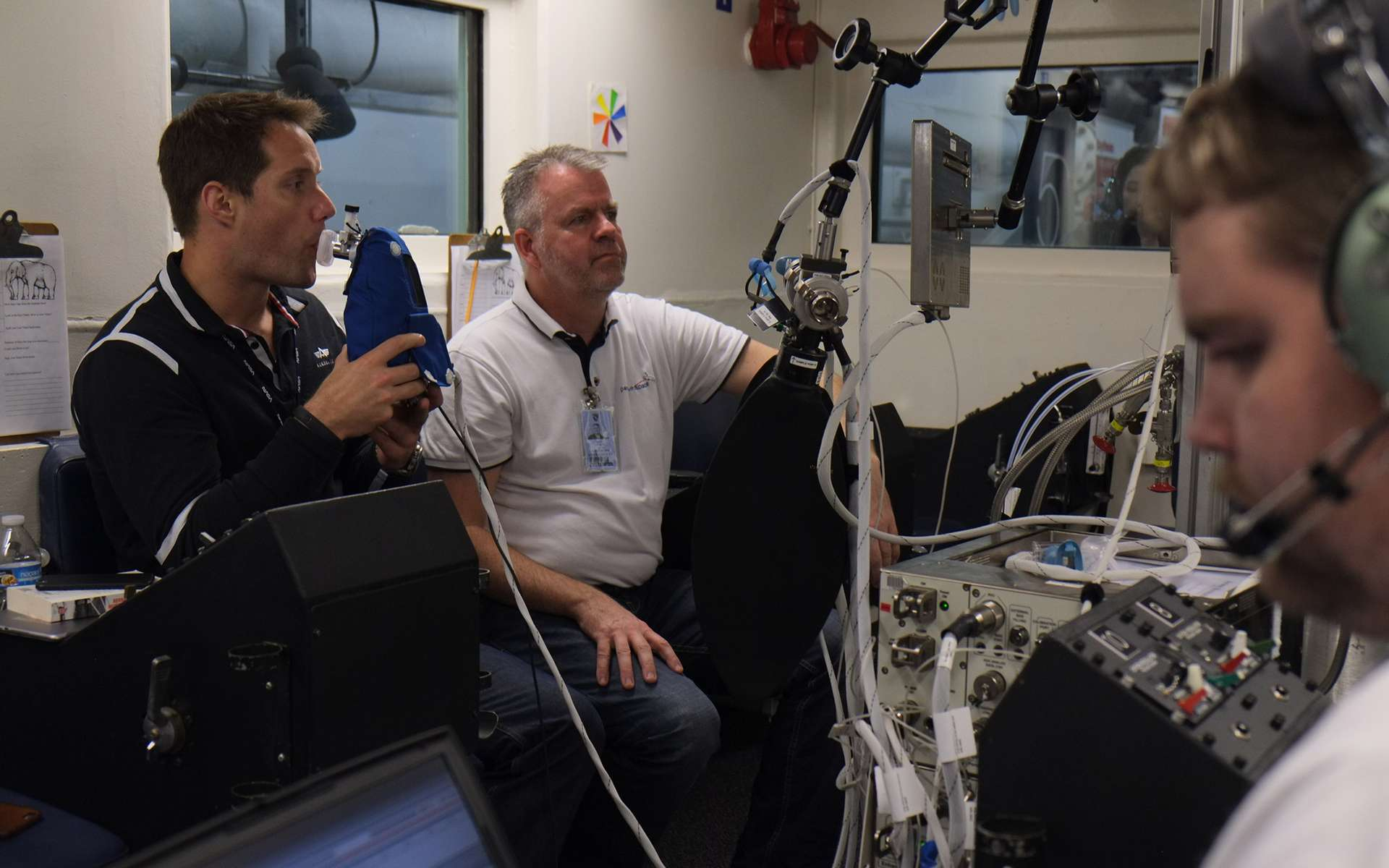 L'astronaute Thomas Pesquet, le dixième Français affecté à un vol dans l'espace. © Esa, droits réservés