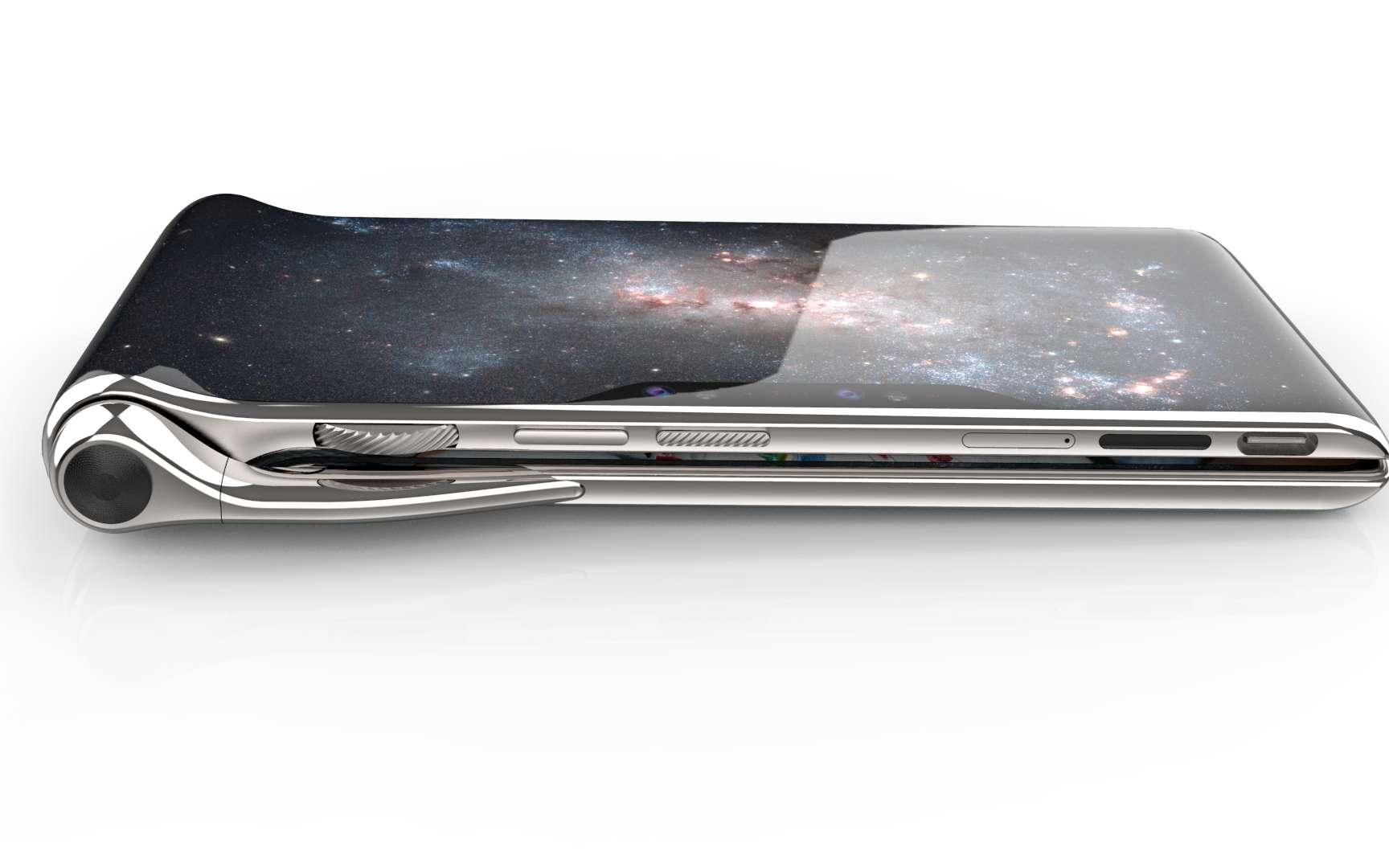 Le HubblePhone de Turing est un smartphone sans concession. Mais tout cela est-il vraiment réaliste ? © HubblePhone