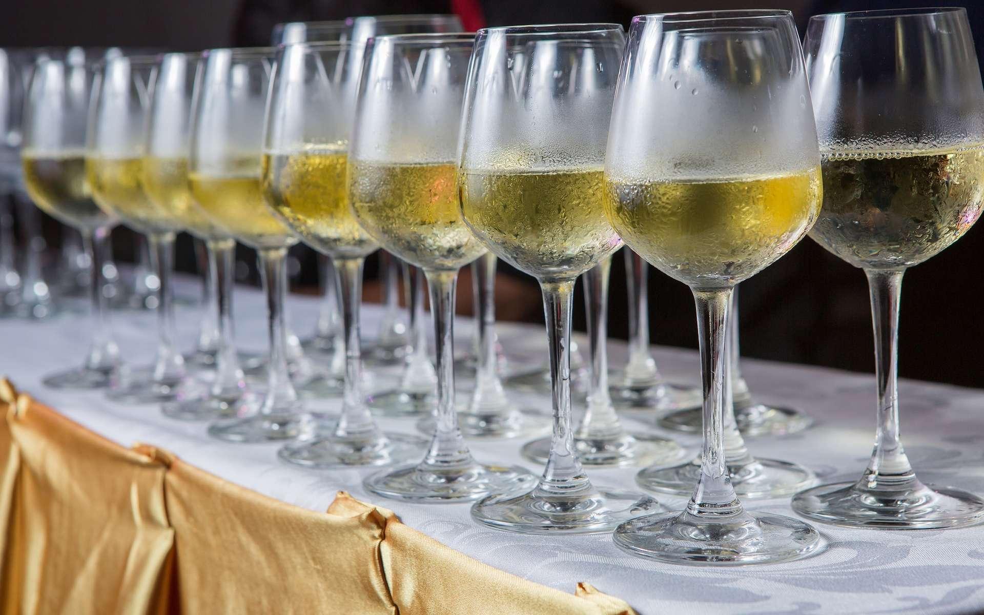 L'eau transformée en « vin » ne tiendrait pas toutes ses promesses. Les viticulteurs n'ont pas trop d'inquiétudes à avoir pour l'instant. © monofaction, Shutterstock