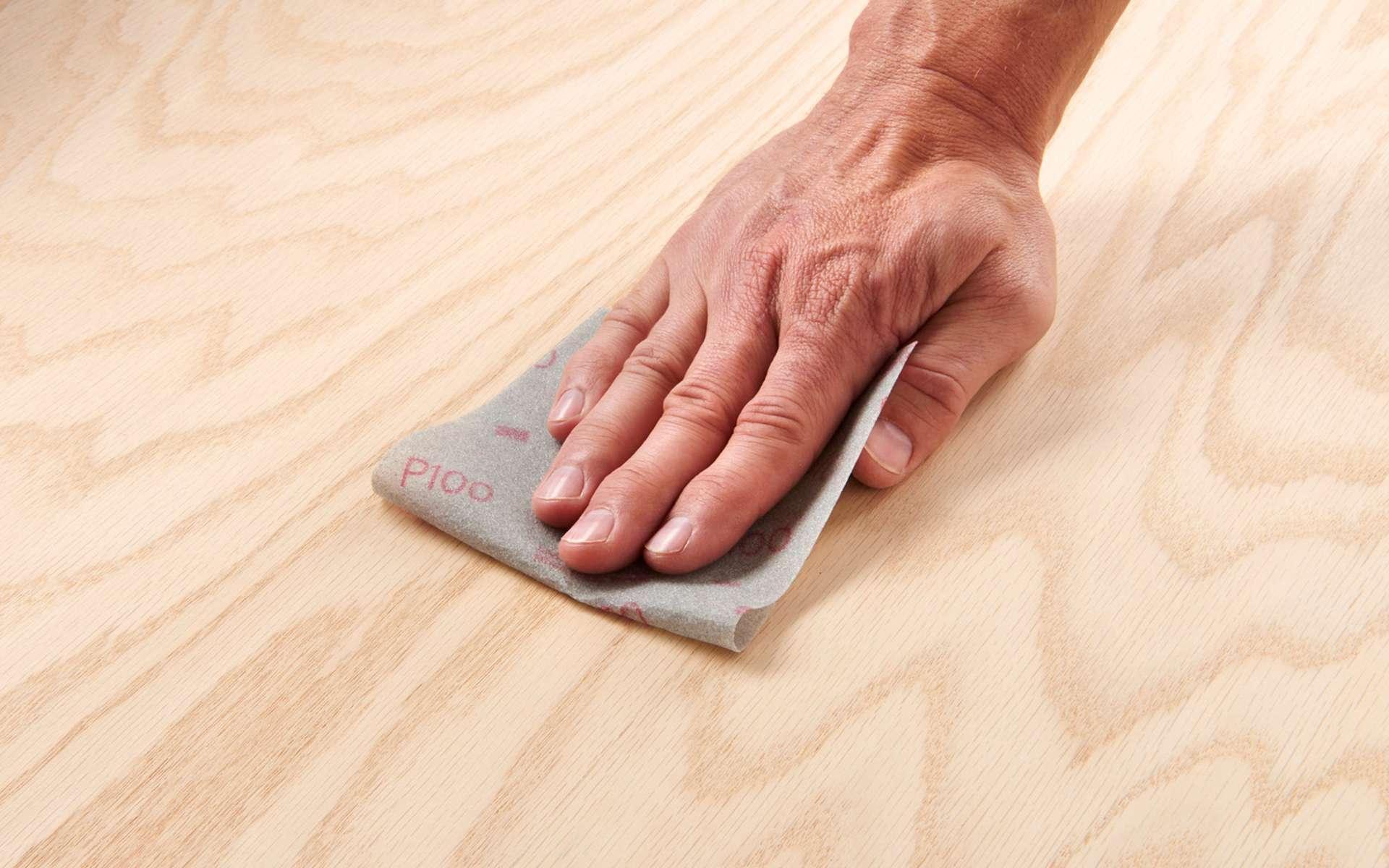 L'égrenage est nécessaire pour obtenir une surface parfaitement lisse. © 3M