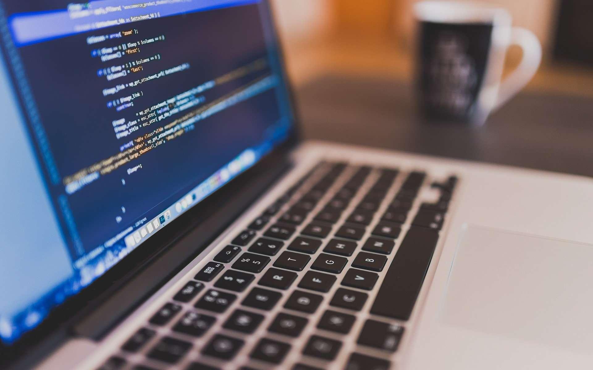 Même un ordinateur déconnecté du réseau peut transmettre des données. © StockSnap, Pixabay