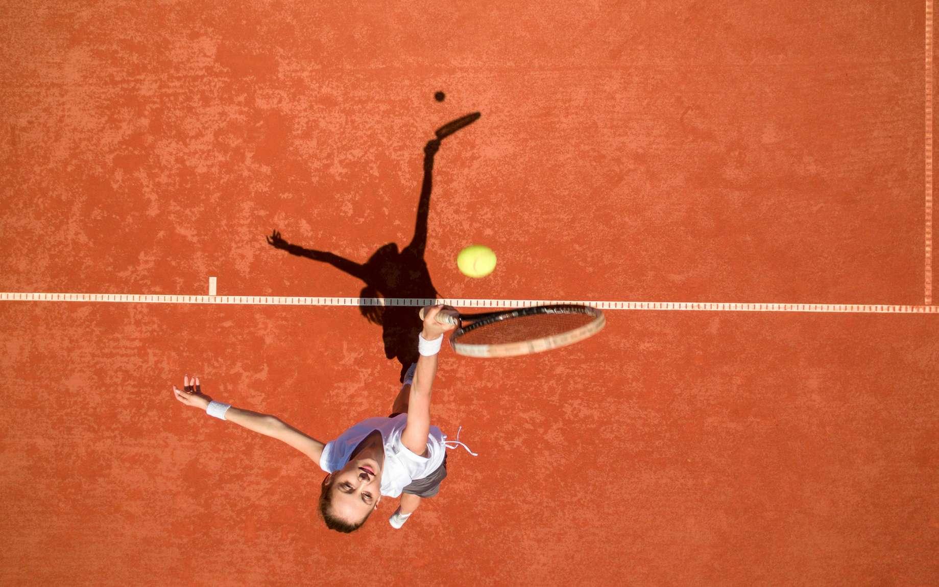 Tennis : est-ce que crier, c'est tricher ? © luckybusiness, Fotolia