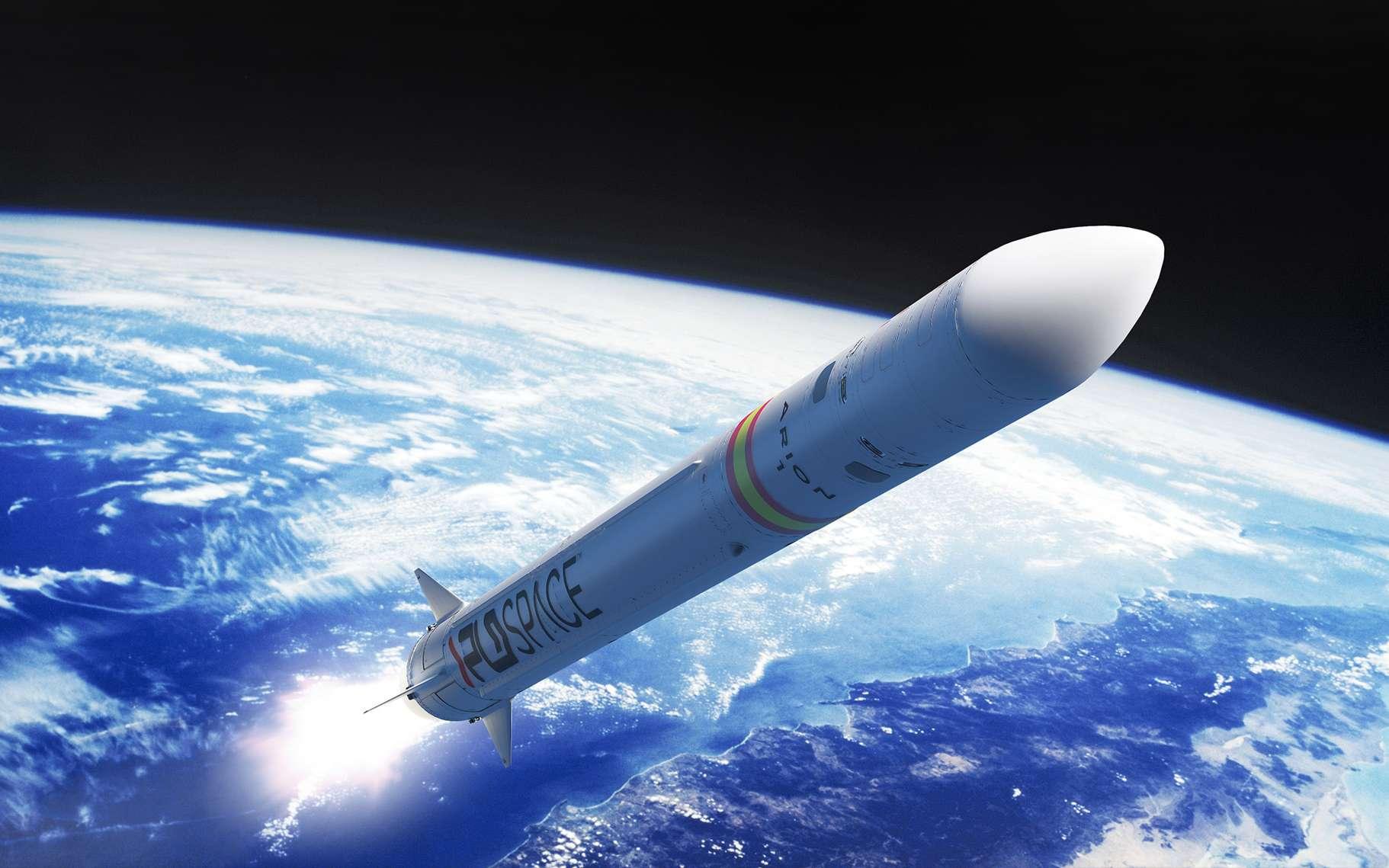 Voici Arion 2, de PLD Space. Ce petit lanceur potentiellement réutilisable pointe son nez en Espagne. Sa mise en service est prévue dès le début des années 2020. © PLD Space