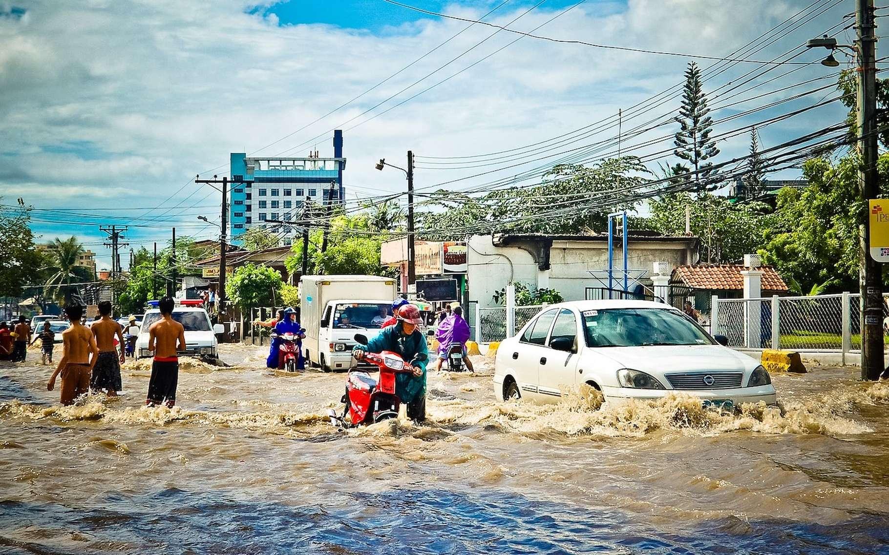 La plupart des victimes d'inondations se situent en Asie (95 %). En 2008, au Vietnam, une catastrophe naturelle de ce type avait fait une centaine de morts. © j_lloa, Pixabay, CC0 Creative Commons
