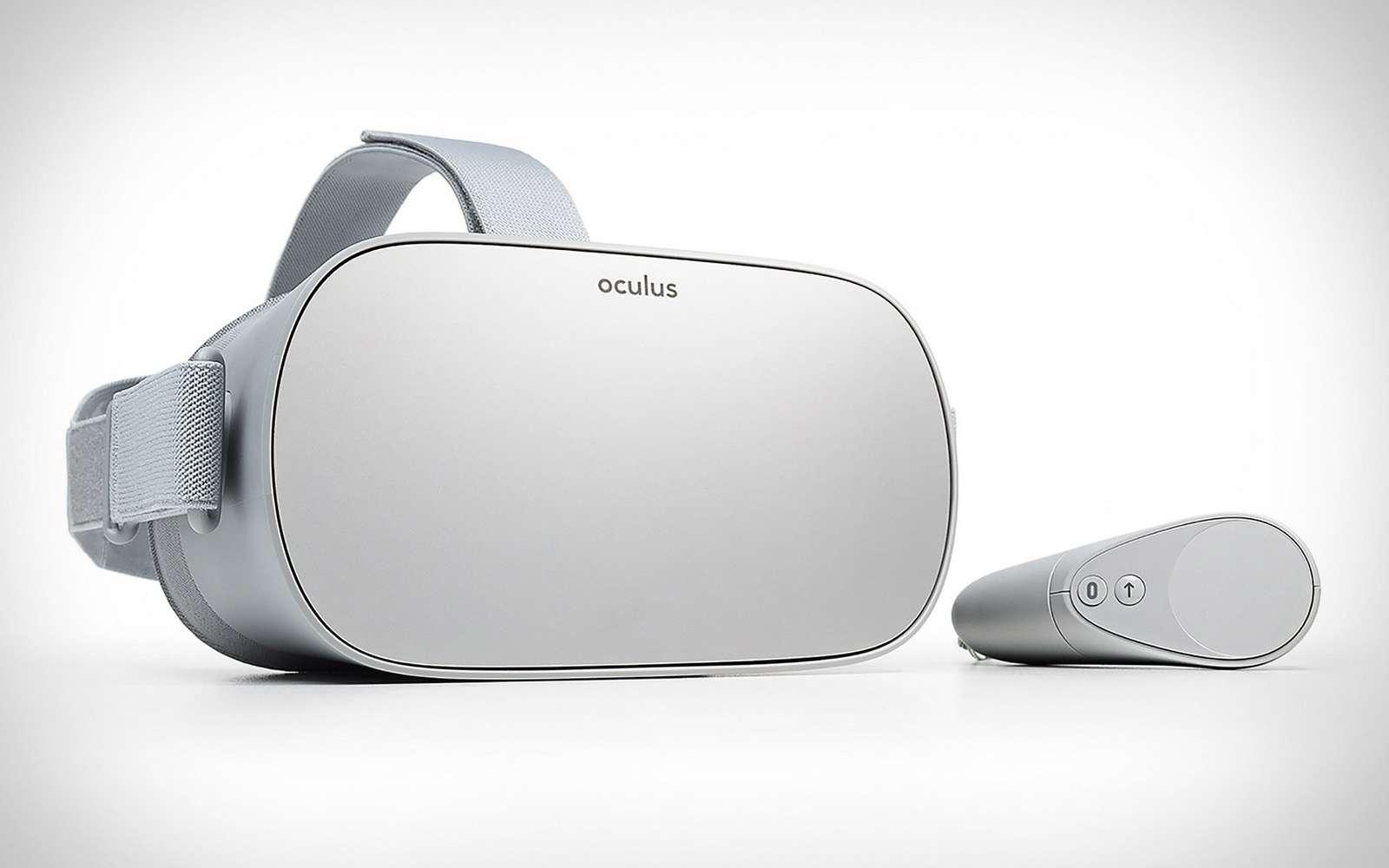 Le casque Oculus Go sera livré avec une manette de contrôle. © Oculus VR