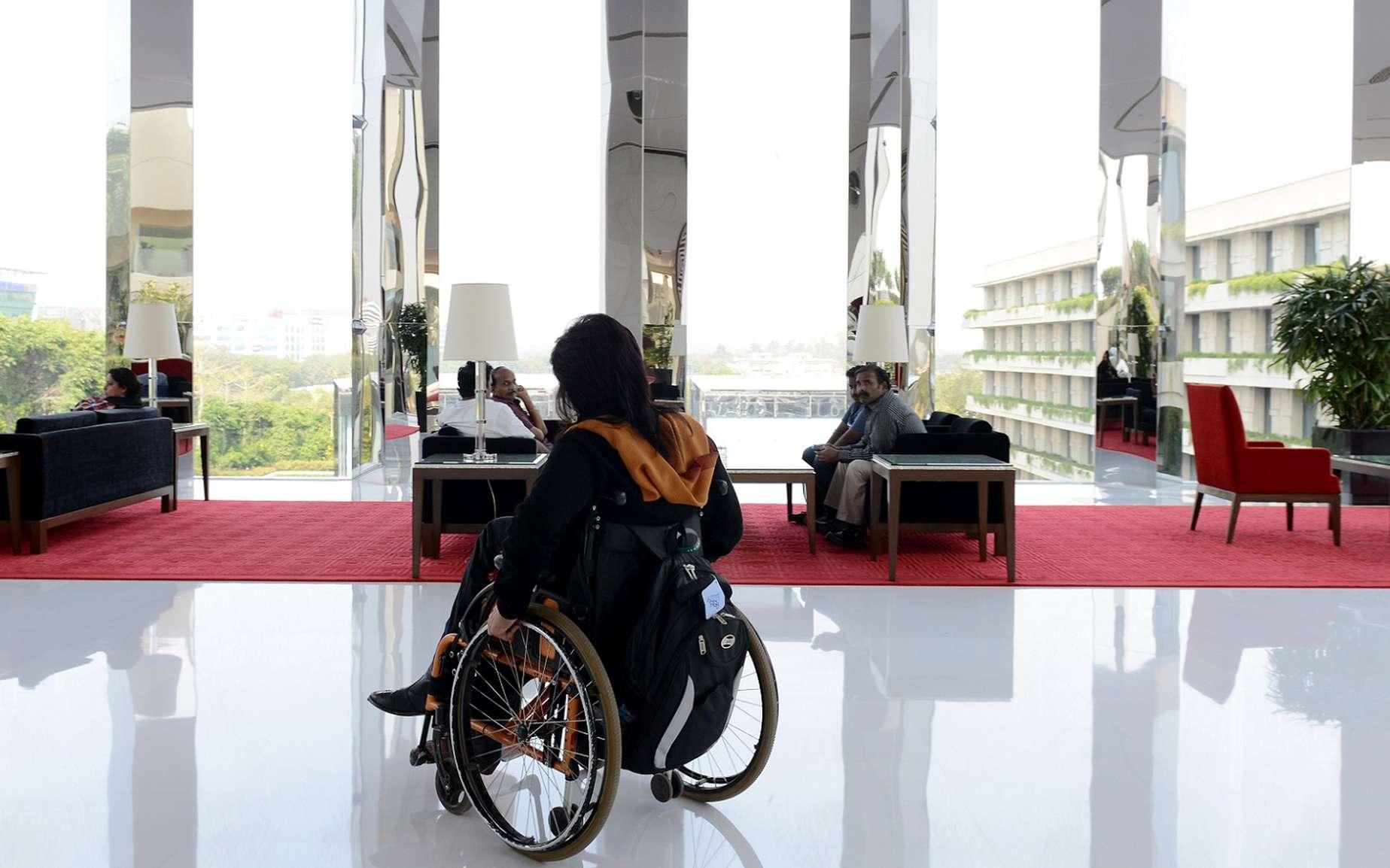 Cette méthode pourrait bénéficier à des patients souffrant d'autres pathologies, dues à un AVC ou à une maladie dégénérative. © Chandan Khanna, AFP
