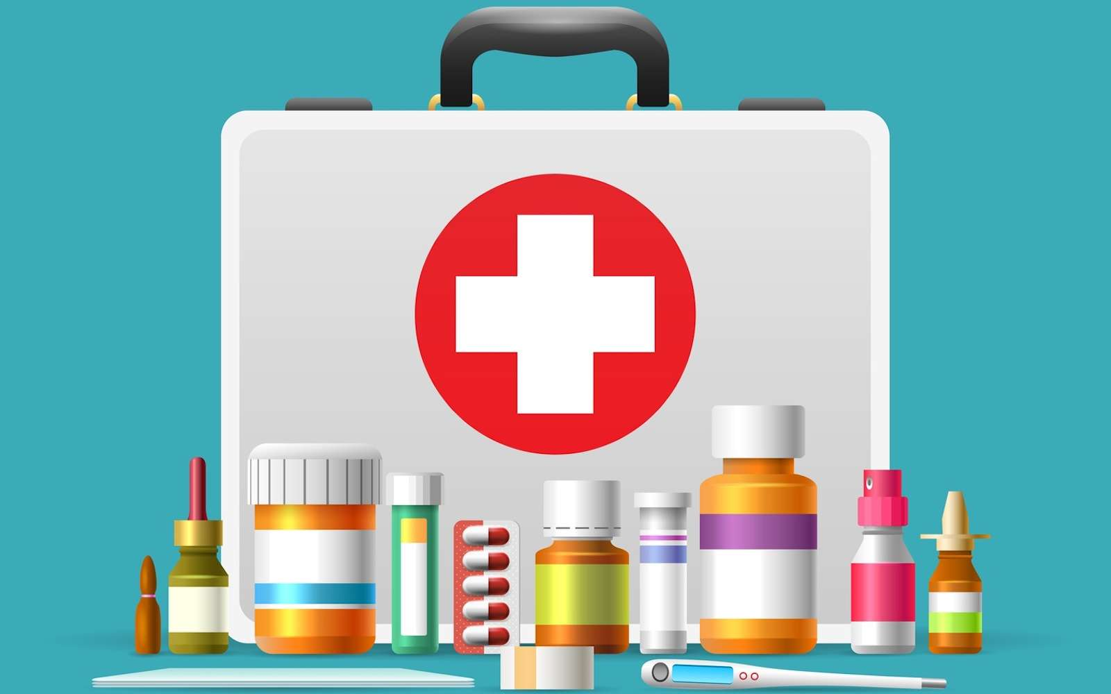 Il existe de nombreuses catégories d'antiseptiques et désinfectants. © vectortatu, Fotolia