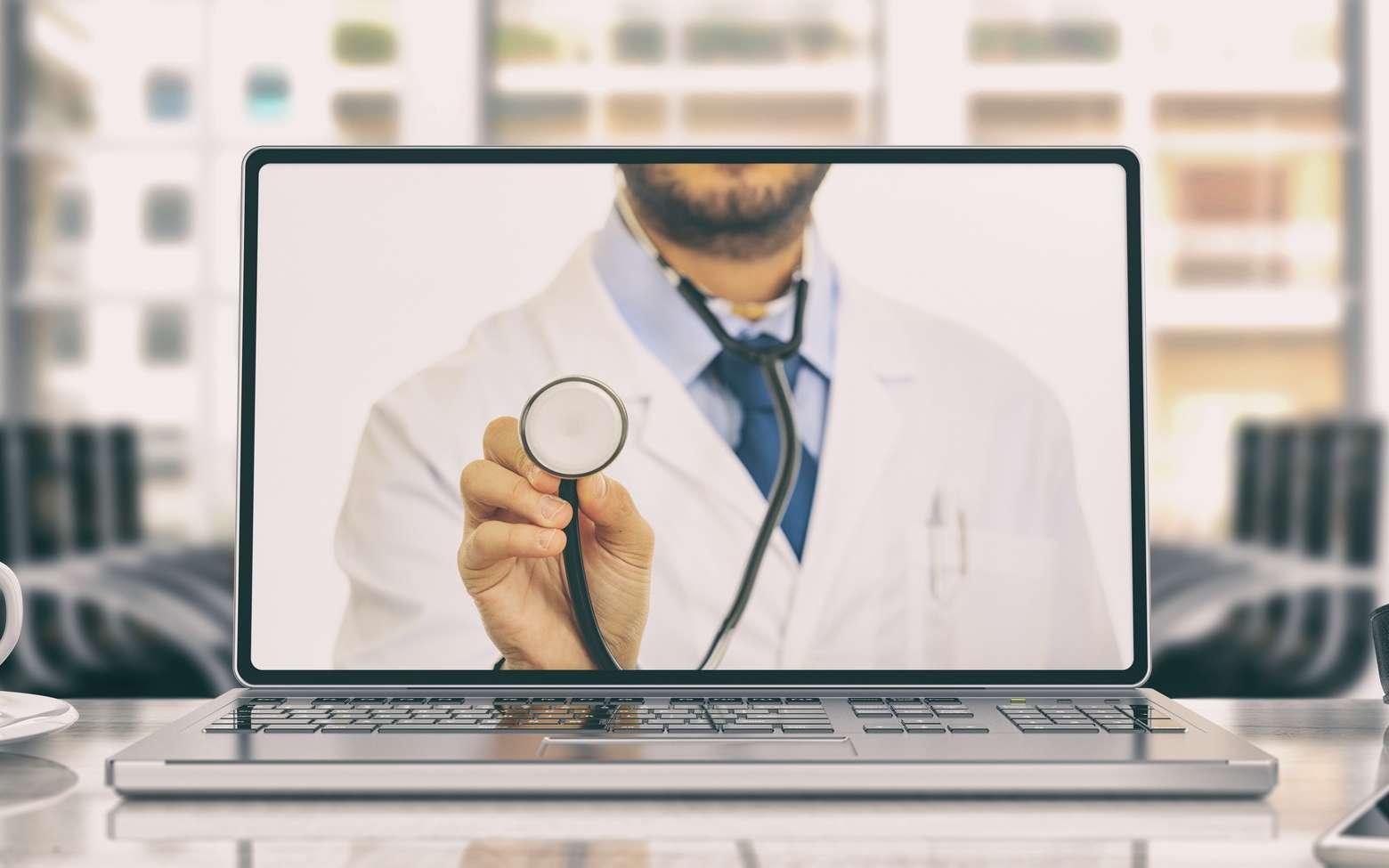 Téléconsultation : comment en bénéficier, quels médecins et pathologies sont concernés. © Rawf8, Fotolia