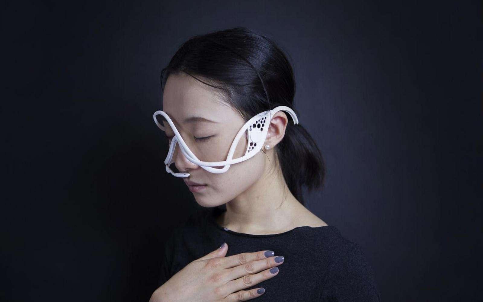 L'étonnant masque psychoacoustique créé par Xin Liu du MIT. © Xin Liu, Hongxin Zhang