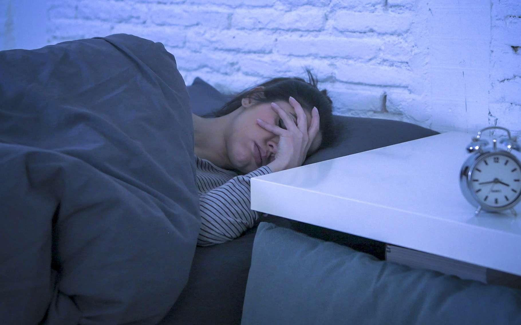 La veille d'un examen, il peut être difficile de trouver le sommeil. Mais quelques astuces peuvent nous y aider. © Wordley Calvo Stock, Fotolia