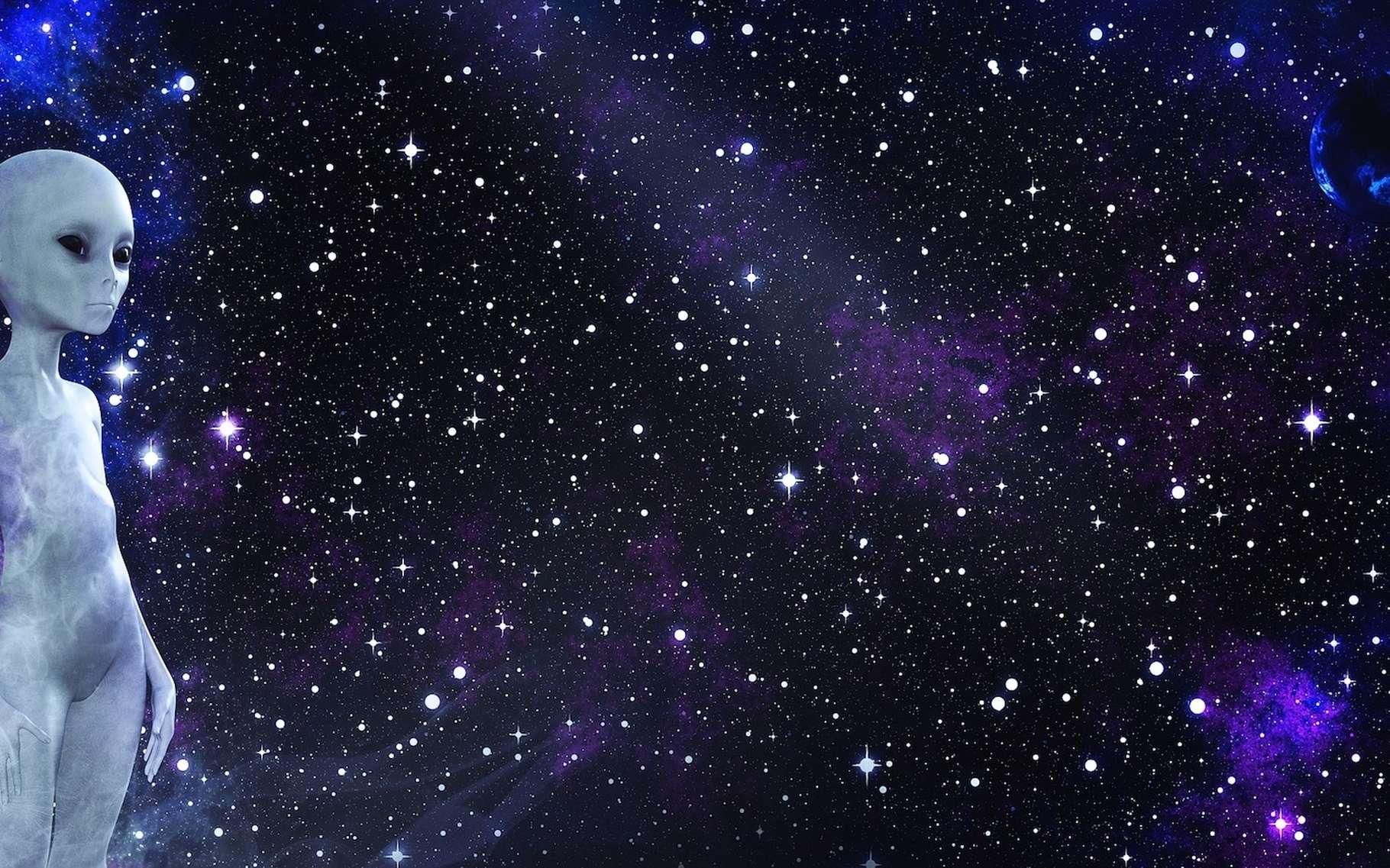 Selon une étude britannique, nous pourrions être les seuls êtres intelligents à vivre dans notre galaxie. © TheDigitalArtist, Pixabay, CC0 Creative Commons