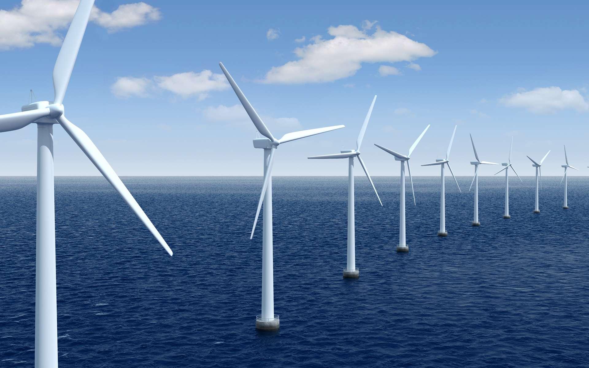 Le Danemark va construire la première île éolienne artificielle au monde - Futura