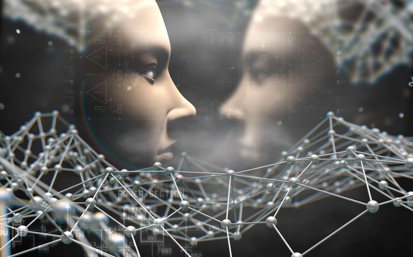 Qui sont les pères de l'intelligence artificielle (IA) ? © carloscastilla, fotolia