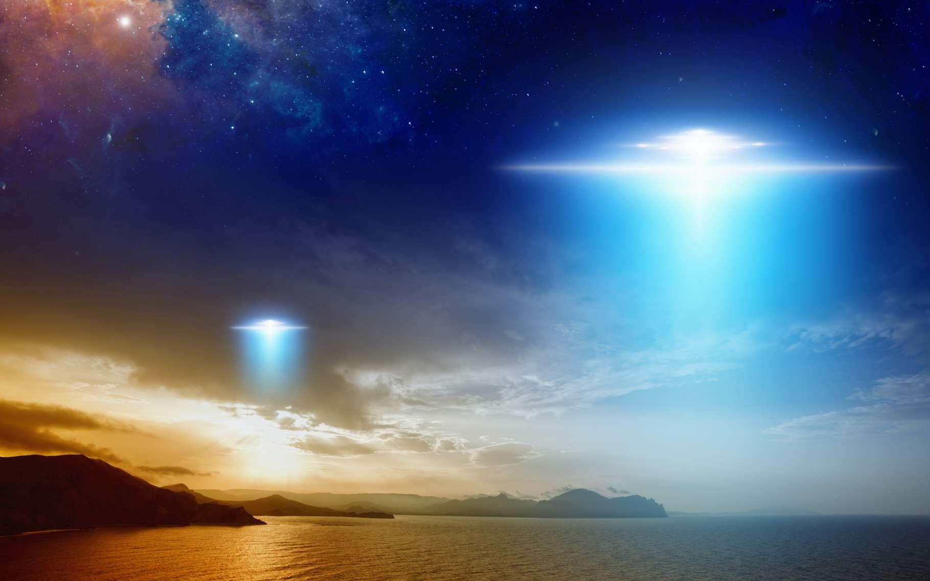 L'ambition du projet Galileo est d'étudier les phénomènes aérospatiaux non identifiés (Pan) dans l'espoir de répondre à LA question : sommes-nous seuls dans l'Univers ? © IgorZh, Adobe Stock
