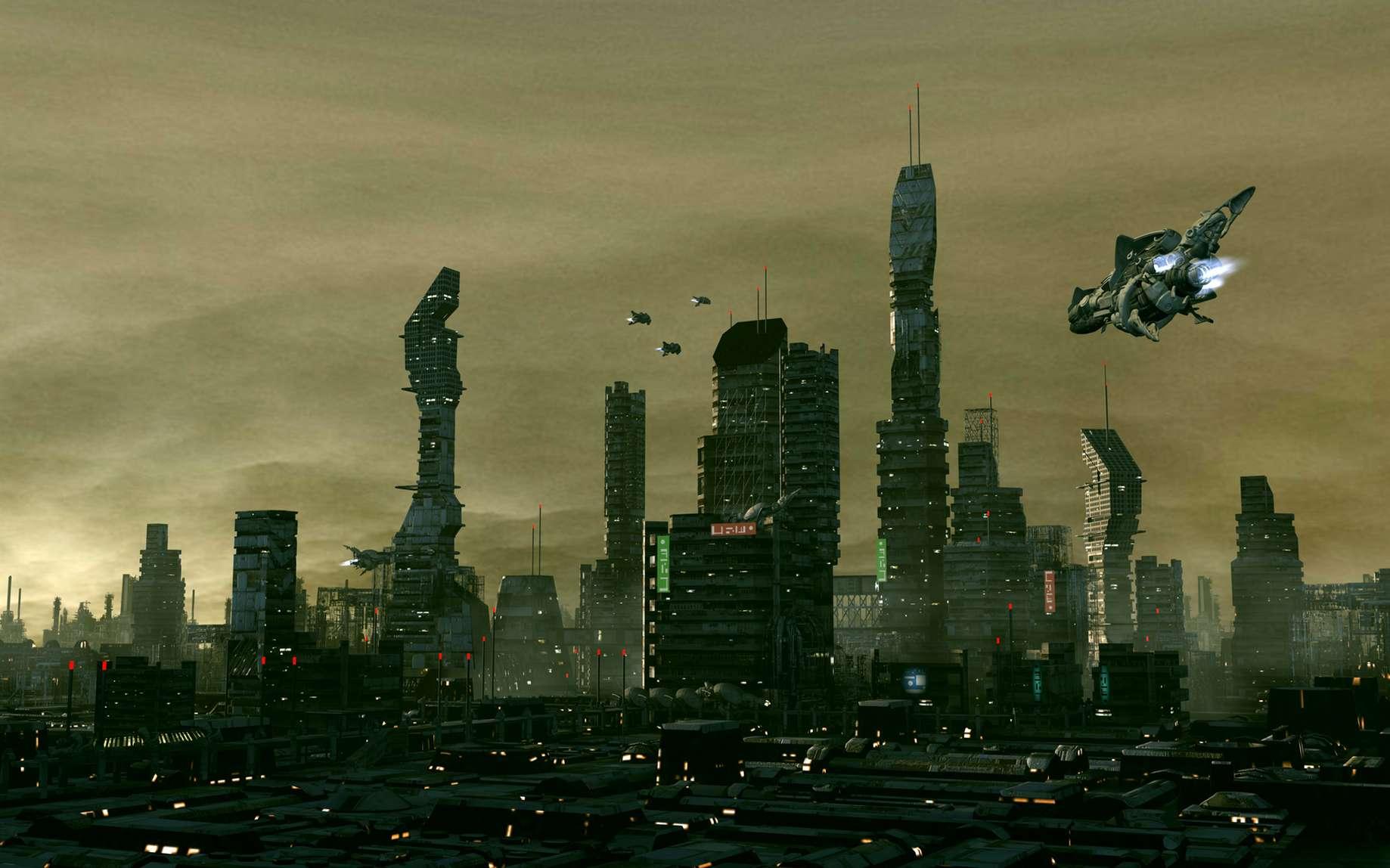 Le San Francisco futuriste est peu décrit dans le roman. Ridley Scott développera l'univers visuel dans le film Blade Runner. © Alexandre, Fotolia