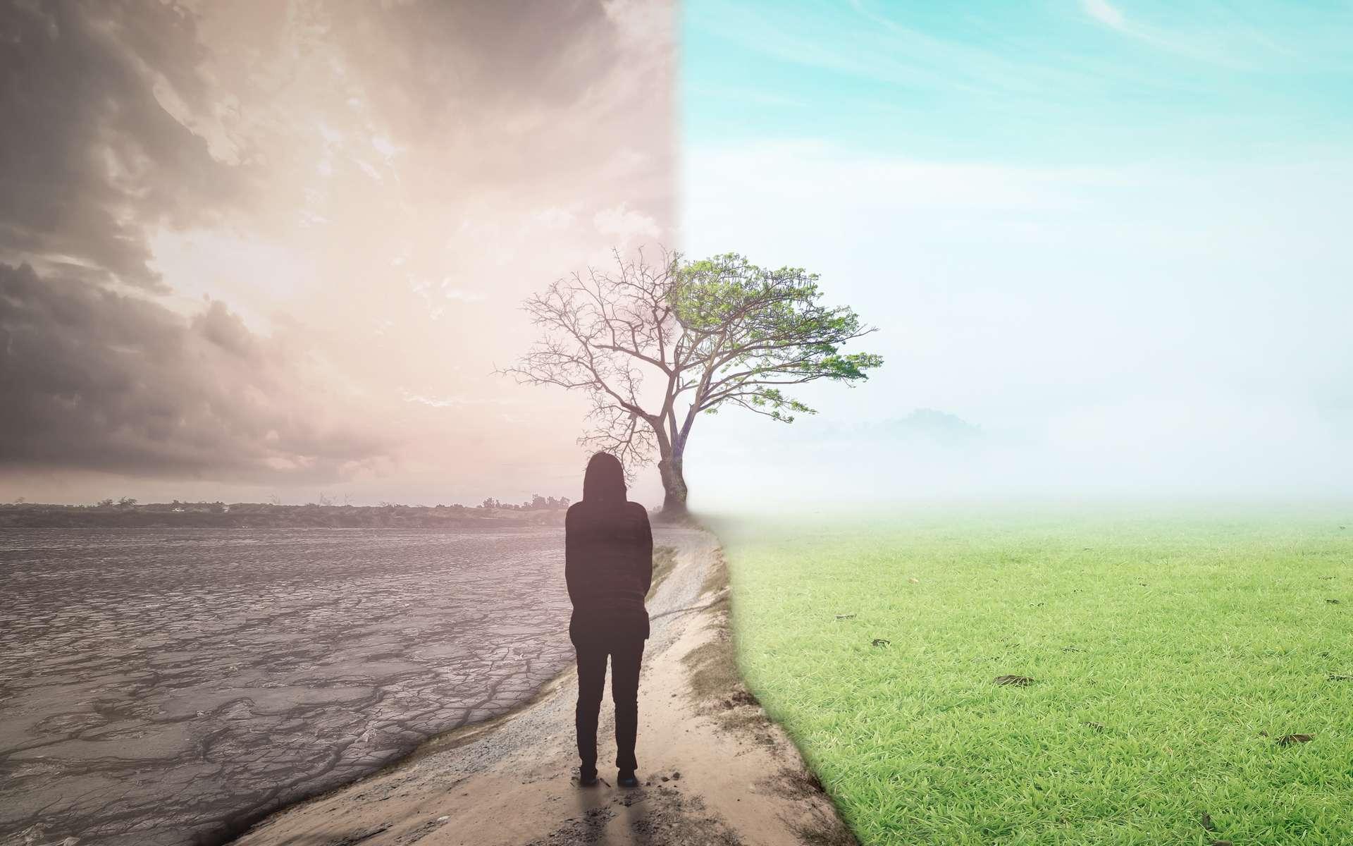 Tandis que certains assurent que le monde s'effondrera avec le changement climatique, d'autres persistent à croire qu'il n'est pas trop tard. © Choat, Adobe Stock