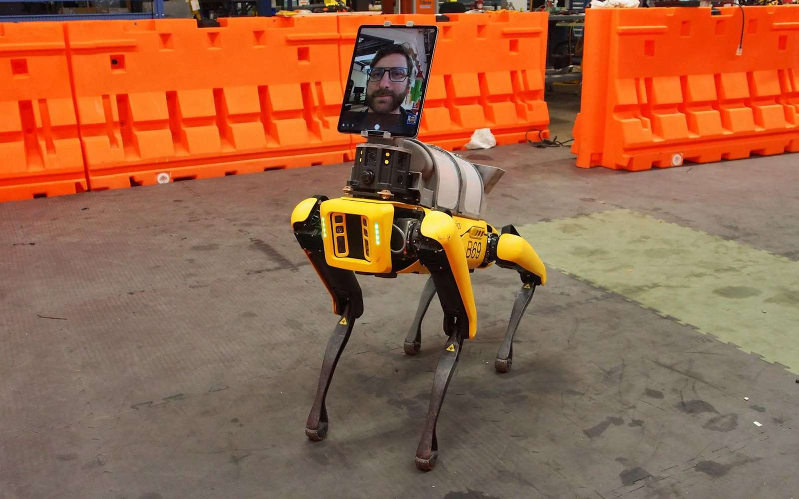 Le robot-chien Spot de Boston Dynamics est devenu docteur. © Boston Dynamics