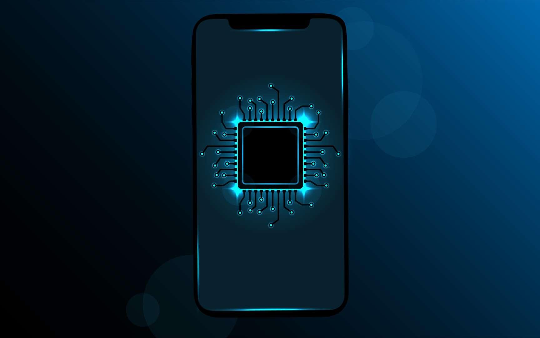 Snapdragon est la gamme de puces mobiles la plus utilisée au monde. © Alexsandr Gladkiy, Adobe Stock